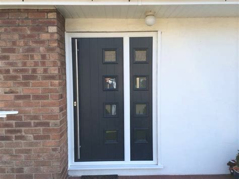 exterior doors with side panels exterior doors with glass side panels