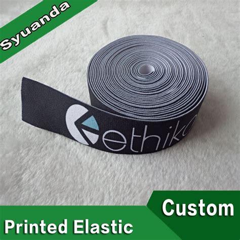Custom Printed Elastic Bands by Custom Heat Transfer Printed Elastic Waistband