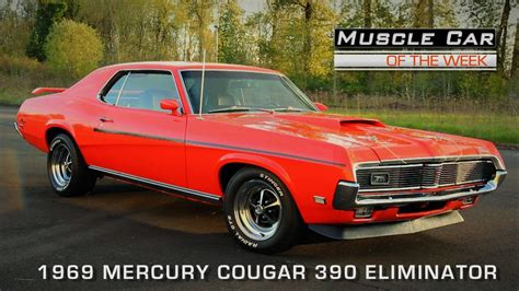 how to work on cars 1969 mercury cougar windshield wipe control muscle car of the week video episode 110 1969 mercury cougar 390 eliminator youtube