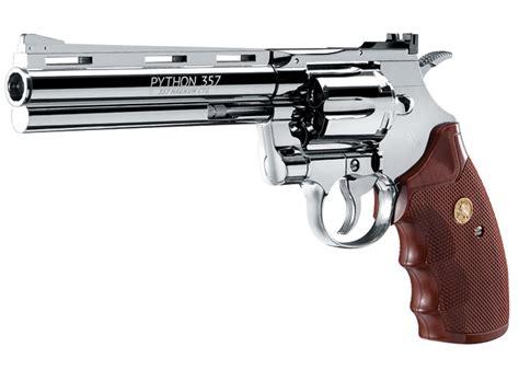 Revolfer Pyton colt python revolver chrome airgun depot