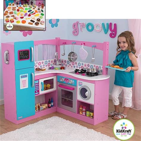 Kitchen Set For Costco by Kidkraft 174 Groovy Gourmet Corner Kitchen 187 Gallery