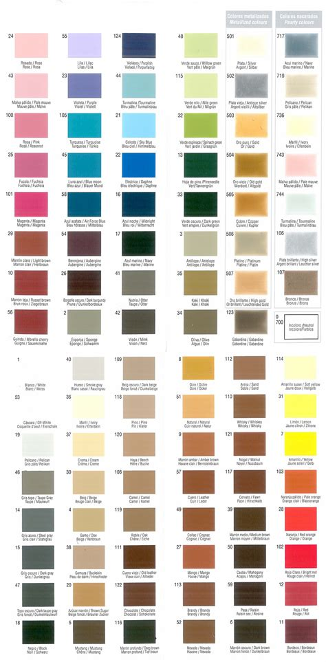 tarrago leather dye colour chart housekeeping colour chart leather and leather
