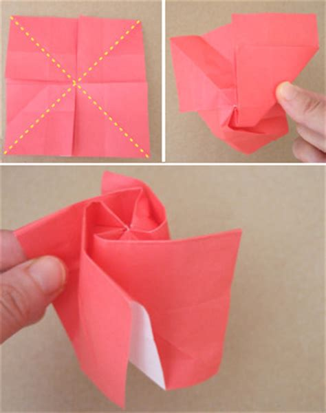 How To Fold Paper Roses - origami roses bloomize