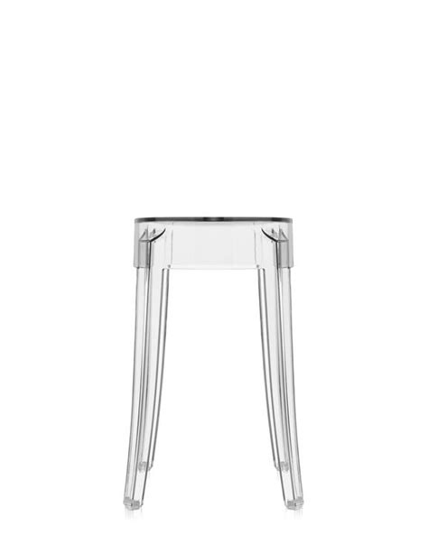 sgabello kartell ghost kartell charles ghost stool shop at kartell