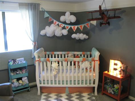 Bedroom Trip Intro Readers Favorite Vintage Travel Themed Nursery Project