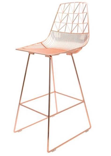 Copper Wire Bar Stools by Best 25 Copper Bar Stools Ideas On Gold