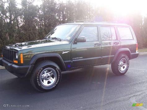 1997 moss green pearlcoat jeep sport 25247664 gtcarlot car color galleries