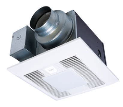 duct free bathroom fan with light panasonic fans whispergreen select fv 05 11vksl1