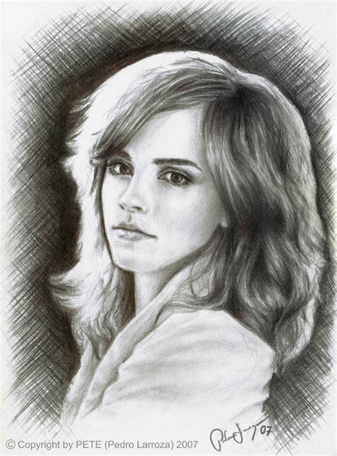 emma watson drawing drawing emma watson fan art 17644186 fanpop