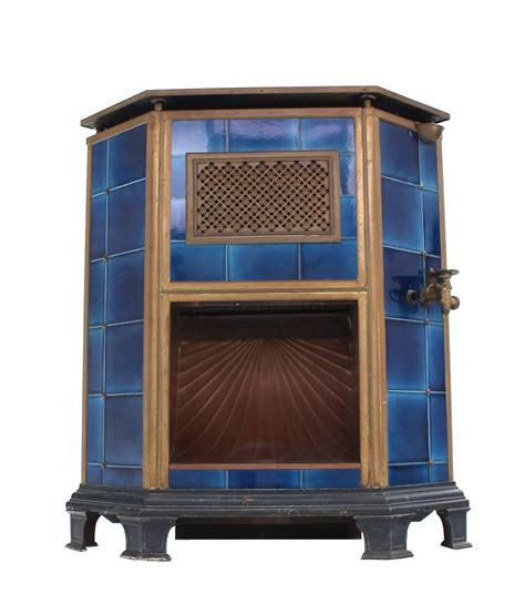 Corner Fireplaces For Sale by Antique Austrian Corner Gas Fireplace For Sale At