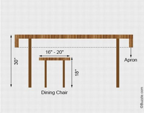 dining table what the right height for a dining table