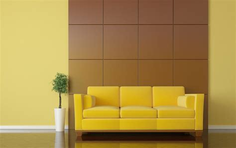 background sofa brown background wall design for sofa in living room