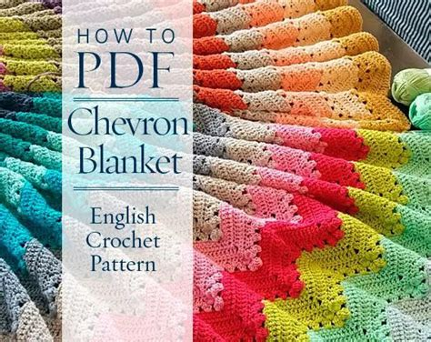 patterns english book pdf diy pdf english crochet pattern four seasons chevron