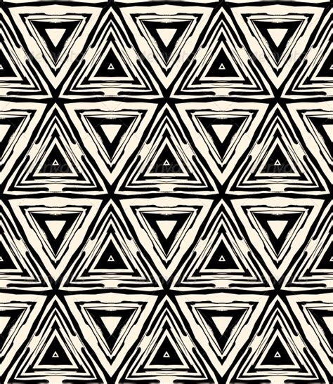 Definition Of Random Pattern In Art | 1930s art deco geometric pattern with triangles graphicriver
