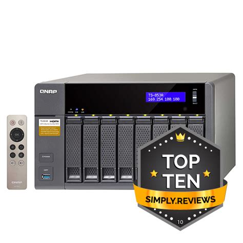 Qnap Ts 853a 8g qnap ts 853a 8g 8 bay nas product review