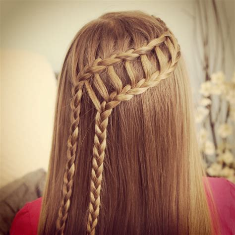feathers braids pictures feather waterfall ladder braid combo 2 in 1 hairstyles