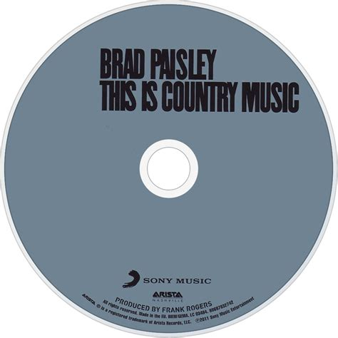 country music cd brad paisley music fanart fanart tv