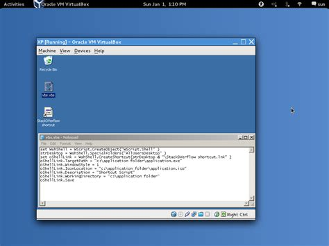 design desktop application using java windows how to create shortcut icon using batch file