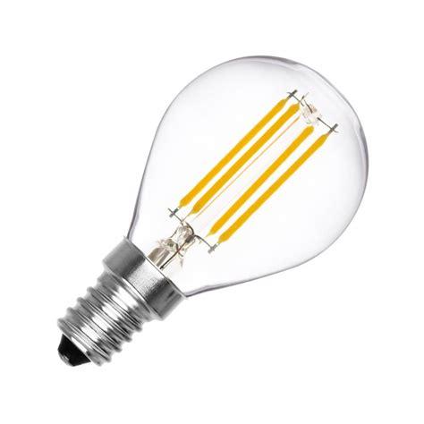 lada led ar111 oule led e14 dimmable filament sph 232 re g45 3w ledkia