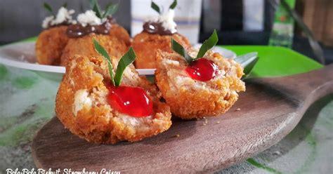 resep biskuit goreng enak  sederhana cookpad