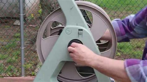 ames reeleasy hose reel repair youtube