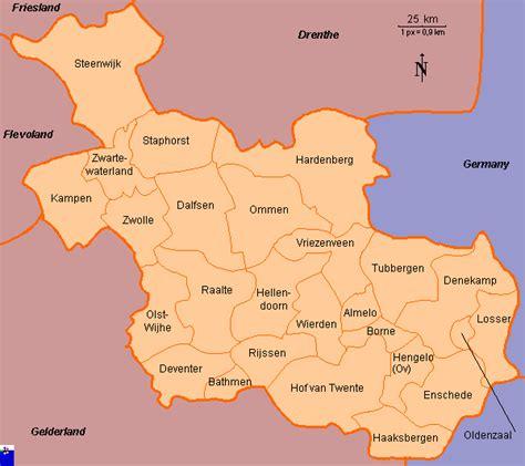 holten netherlands map clickable map of overijssel netherlands