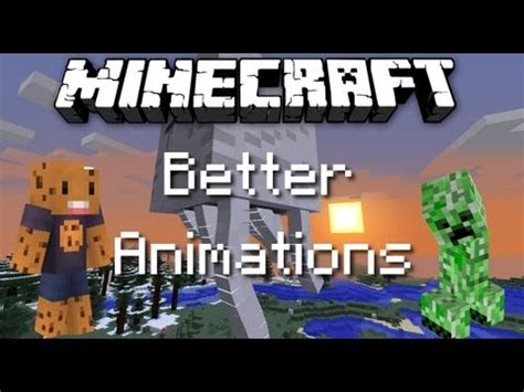 minecraft better animations mod minecraft better animations collection revived mod 1 6 2