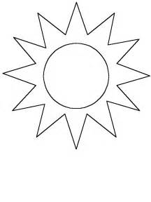 what color is the sun simple shapes sun coloring pages coloring book