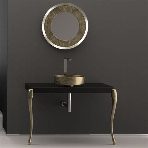 bathroom console vanity luxury italian bathroom console