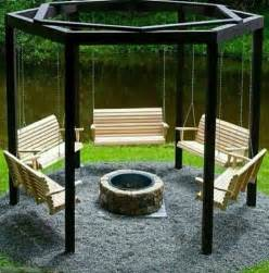 swing and pit heaven for the garden