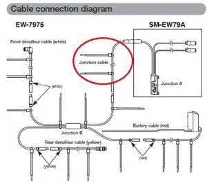 shimano di2 wiring diagram shimano di2 wiring diagram