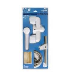 croydex bath shower mixer set buy a croydex bath amp shower mixer conversion set silver