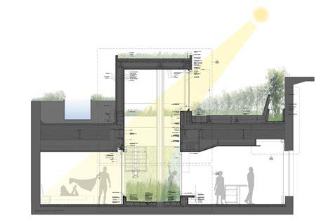 terrace garden section gallery of broadway penthouse joel sanders 8