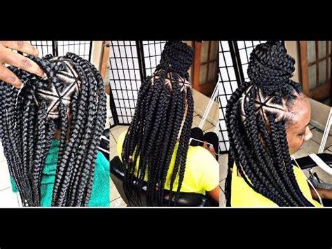 diy spider web jumbo box braids black hair 248 braids by twosisters inspired spider web braids