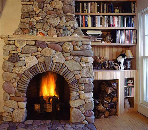 rock fireplaces 40 stone fireplace designs from classic to contemporary spaces