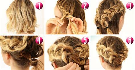 como hacer peinados para pelo corto 10 tutoriales de peinado para cabello corto