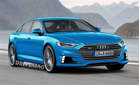 Audi A6 New by All New 2018 Audi A6 Shows Its Big Camouflaged For