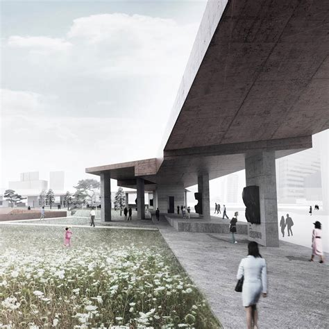 design concept memorial park pwferretto propose an quot active monument quot as seoul s