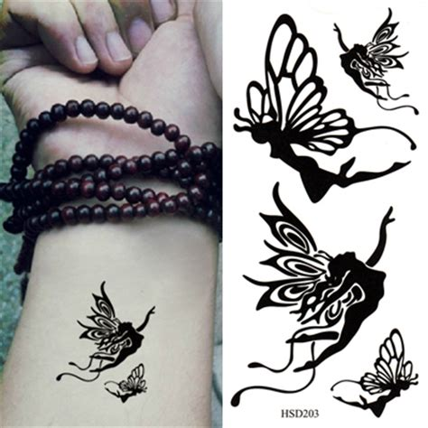tattoo artist research paper piercing black butterfly pattern design paper tattoos body