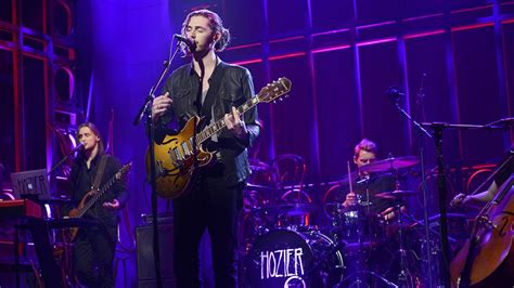 hozier on snl who s that long haired singer songwriter guy from this