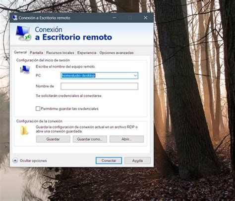 para escritorio remoto el escritorio remoto de windows