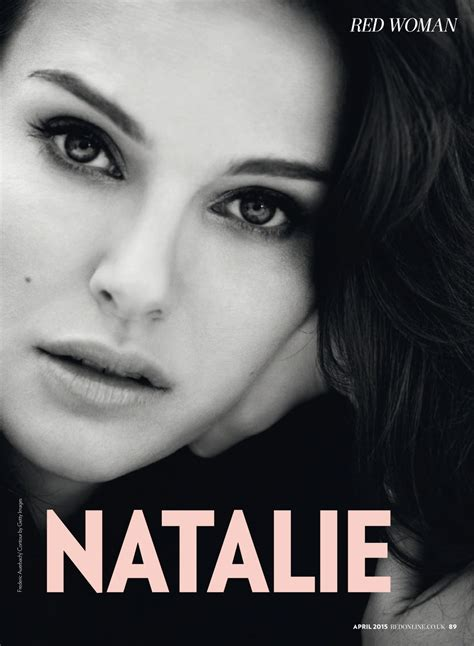 Natalie Portman April Issue Of Magazine by Natalie Portman Magazine Uk April 2015 Issue