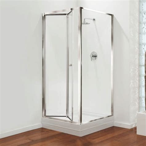 folding tub shower doors bi fold shower door will give your bathroom an upscale look bath decors