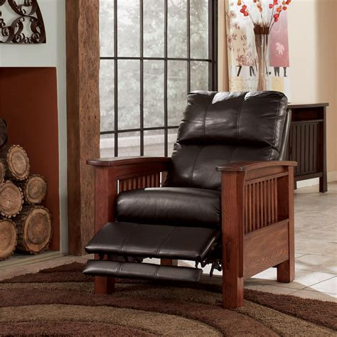 ashley high leg recliner ashley signature design santa fe high leg recliner with