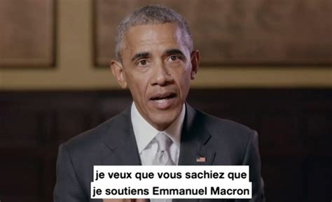 barack obama biography in french obama endorses a french presidential candidate ctv news