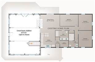 great room addition plan post and beam addition barn second story addition costs