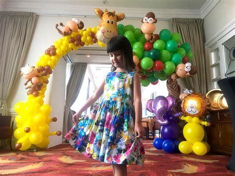 birthday party balloon decoration singapore party people