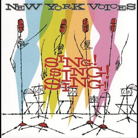 sing swing sing sing sing sing cd new york voices