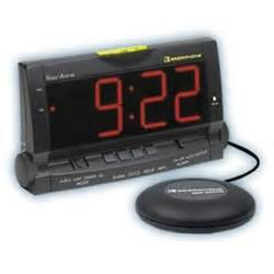 clarity assure alarm clock with bed shaker at healthykin
