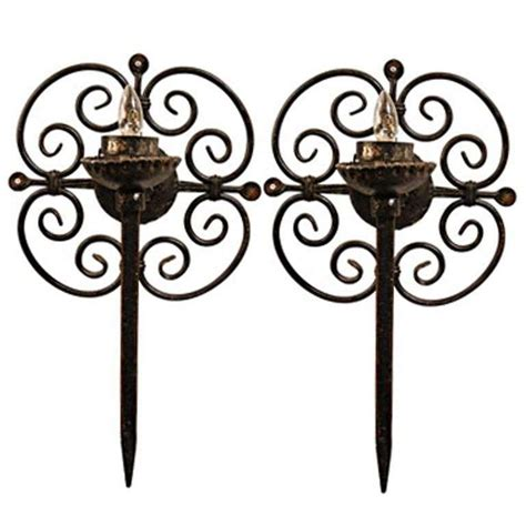 Wrought Iron Wall Sconces Style Wrought Iron Wall Sconces At 1stdibs